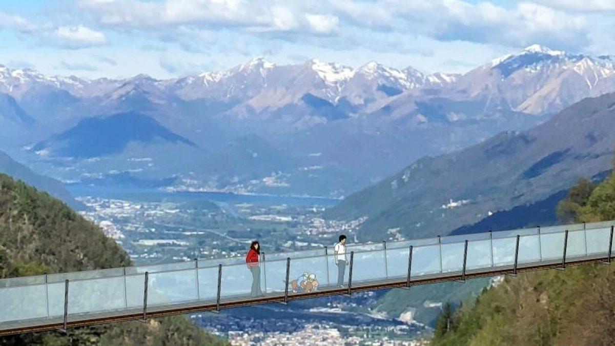 Seicentomila euro per un ponte tibetano, è questo il turismo sostenibile di Regione Lombardia?