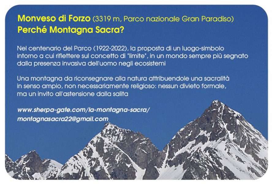 Prima cartolina dalla Montagna Sacra